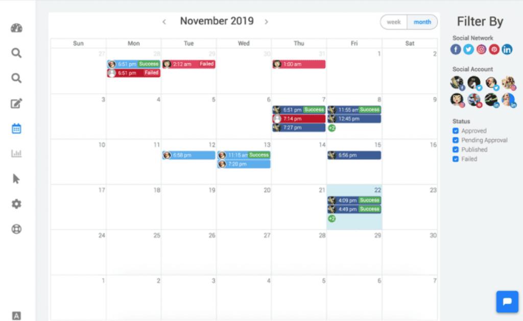 SocialPlanner - Calendar & Content Planner