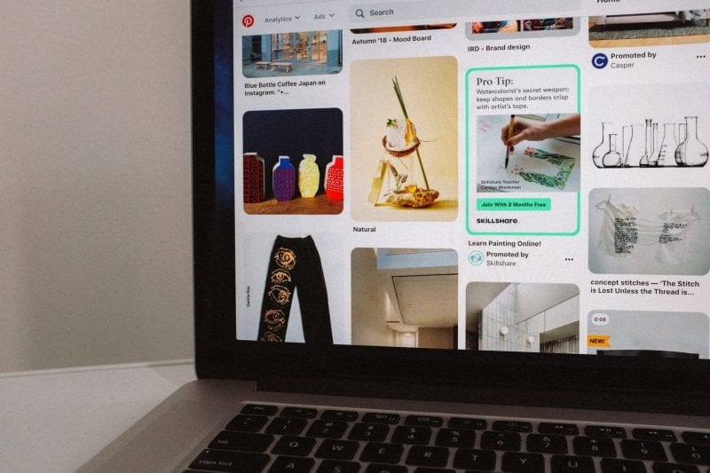 Pinterest is a great tool when it comes to sharing visual content