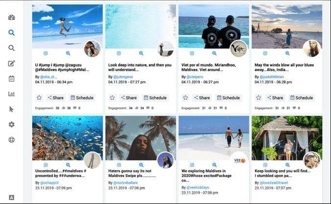 SocialPlanner.io Content Discovery