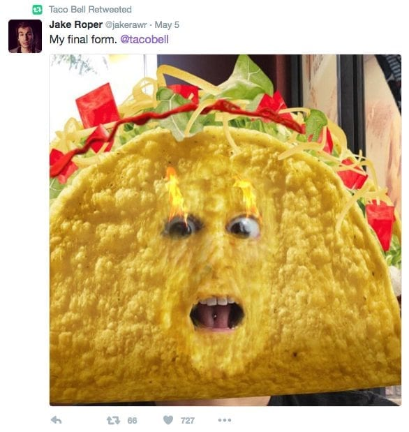 Taco Bell showed us what Snapchat Ads and campaigns should look like.