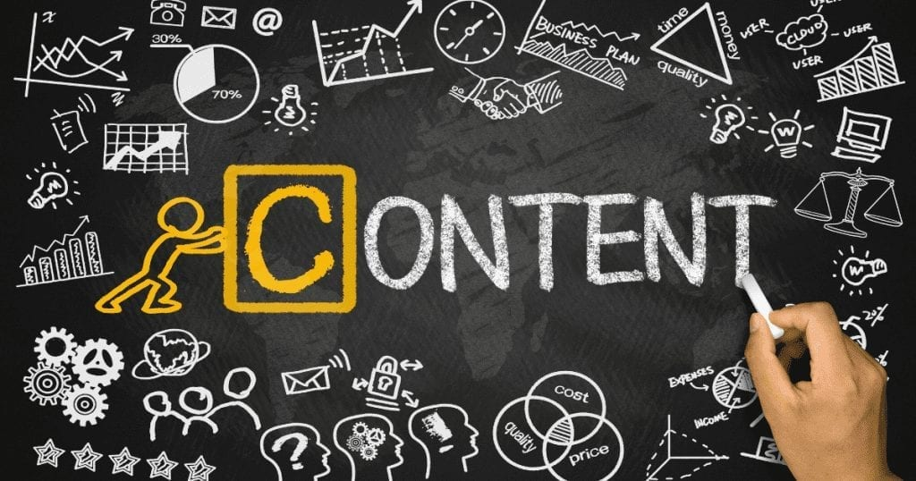 Content is king and vital in marketing