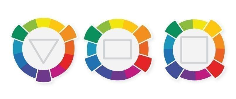 The different colour combination possibilites