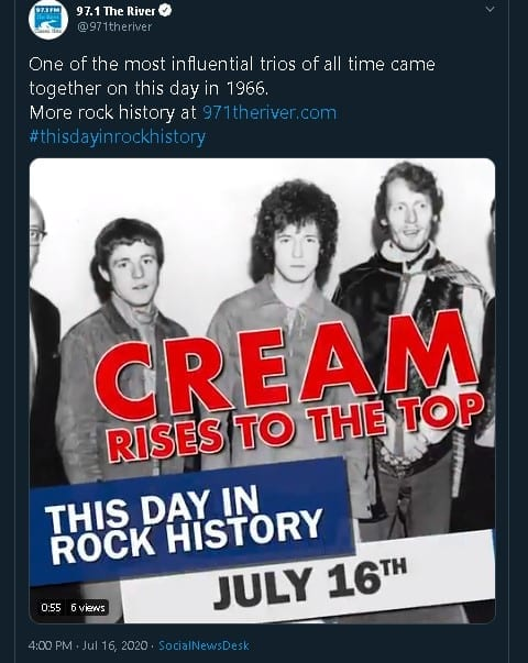 Great example of 'this day in history' post