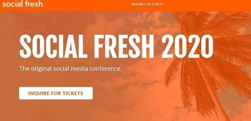 Social Fresh 2020