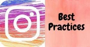 Best practices for Instagram fonts.