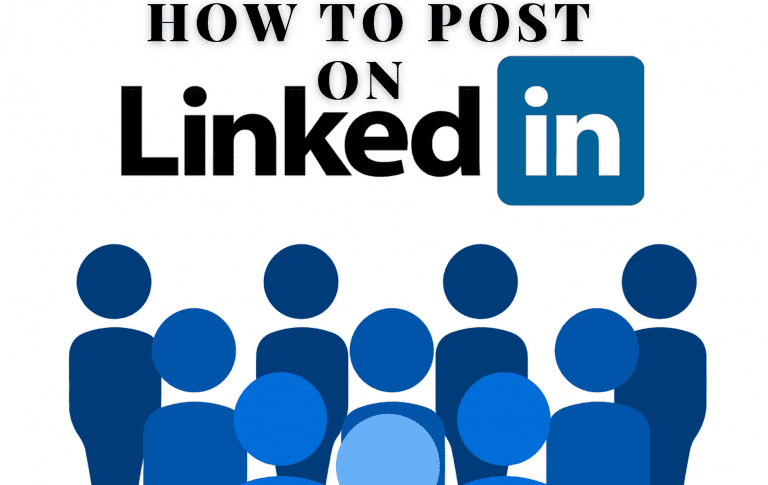 How to post on LinkedIn
