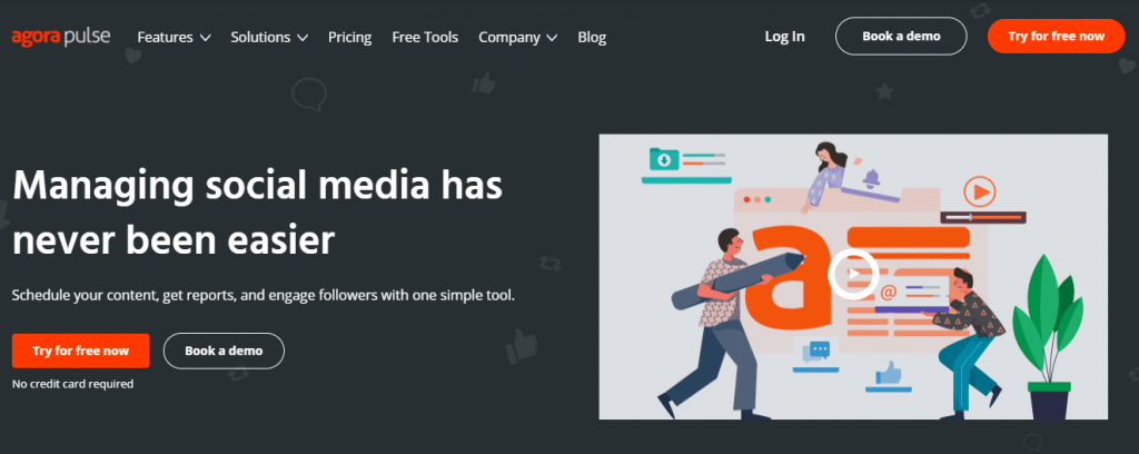 Social media marketing tools - AgoraPulse