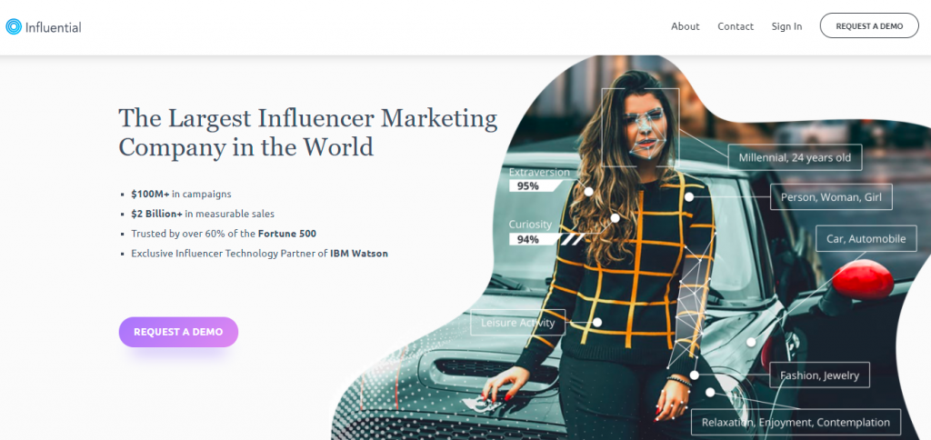Influential is one of the most important social media marketing tools for influencer marketing