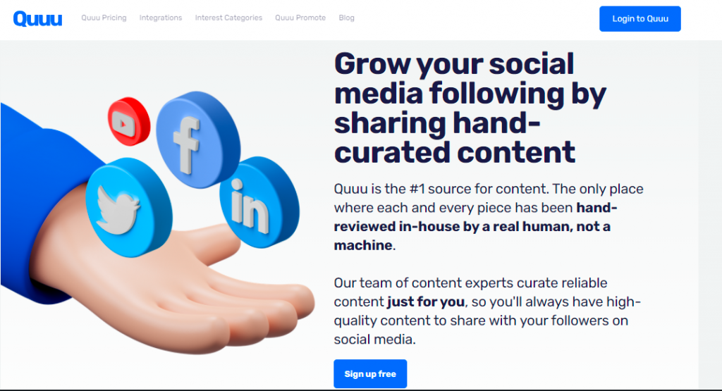 The Best Digital Marketing Tools - Quuu